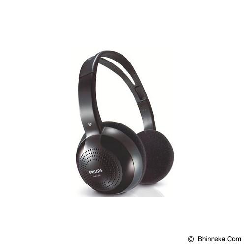 PHILIPS Wireless Headphone [SHC-1300/10] - Black - Headphone Full Size